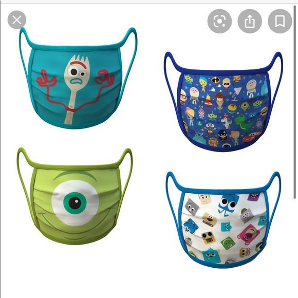 Disney Pixar mask set Size S NWT Forky toy story